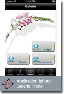 application mobile Bruyeres multimedia